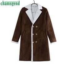 09496645c060d Chamsgend Зимняя шерстяная куртка мужская 2018 Новая мужская  Высококачественная теплая мужское шерстяное пальто Повседневная Дли..