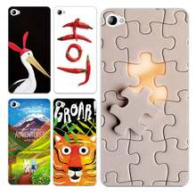 Goose Soft Clear TPU Phone Case For Lenovo S60 S90 A2010 A1000 A5000 A7000 K4 K5note Puzzle Chili Printed Cover Free Shipping(China)