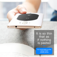 Baseus QI Wireless Charger Receiver For iPhone 7 6 5 Samsung a5 7 Wireless Charging Receiver For Xiaomi 5 6 Redmi 4x oneplus lg 3