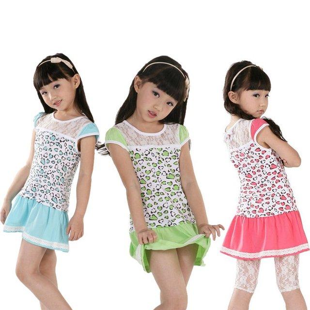 2012 venta al por mayor, 5 unids/lote + de calidad superior de encaje + flor linda + 3 colores, las muchachas atan el vestido, verano de los cabritos mini frock, vestidos algodón