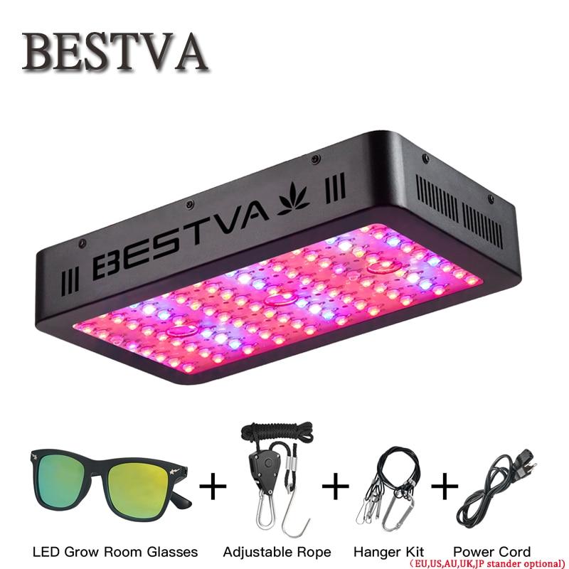 BestVA LED coltiva la luce 300/600/800/1000/1200/1500/1800/2000 w spettro completo per Interni Serra crescere tenda piante coltiva la luce led