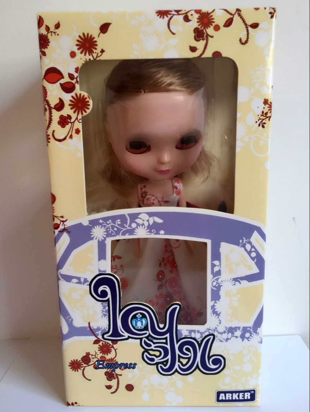 Free Shipping lovely ICY-12 DIY Blyth ICY doll birthday gift for girls 4 colour big eyes dolls with beautiful Hair cute toy цена