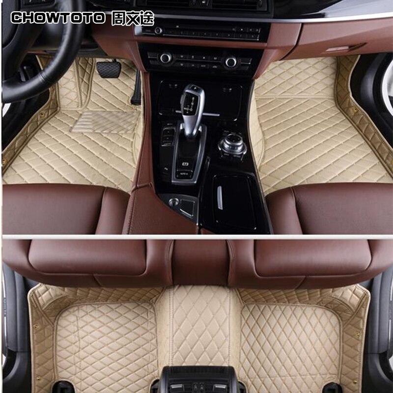 CHOWTOTO AA Custom Special <font><b>Floor</b></font> Mats For <font><b>Jeep</b></font> <font><b>Cherokee</b></font> Durable Waterproof Carpets For <font><b>Cherokee</b></font>