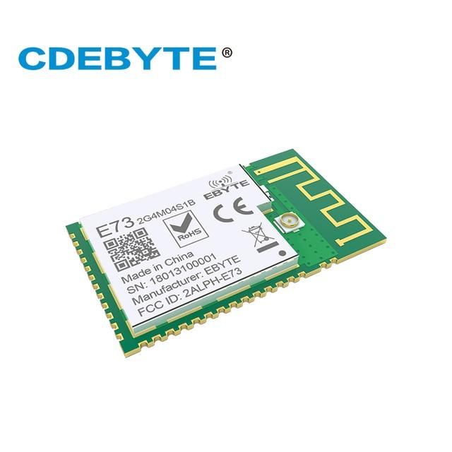 10 шт./лот nRF52832 передатчик приемник 5,0 2,4 ГГц E73-2G4M04S1B PCB IPEX Разъем Bluetooth модуль беспроводной передачи