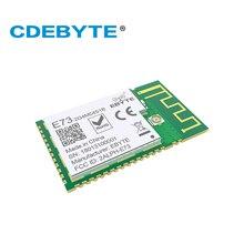 10 יח\חבילה nRF52832 משדר מקלט BLE 5.0 2.4GHz E73 2G4M04S1B PCB IPEX מחבר Bluetooth מודול שידור אלחוטי