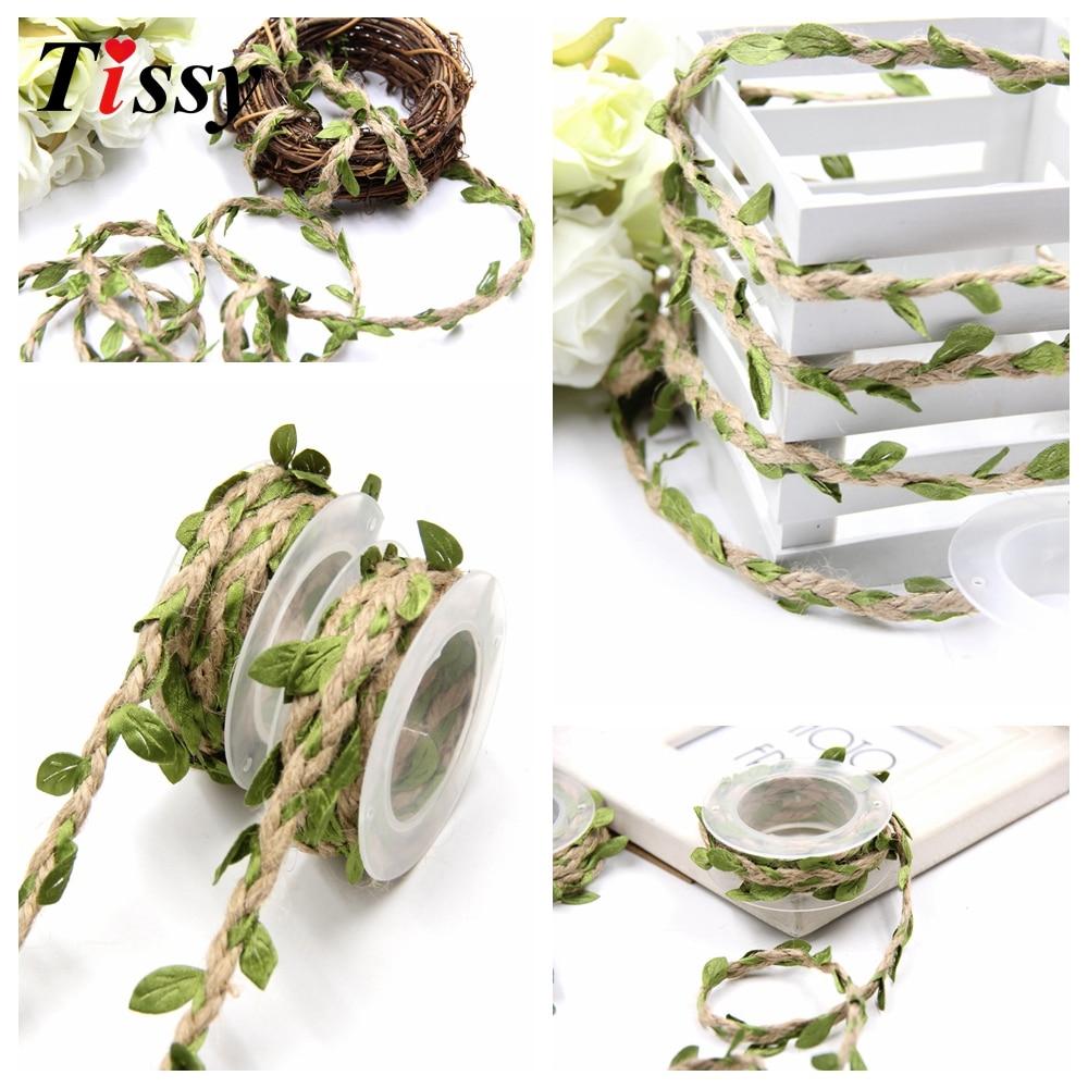 2m DIY Τεχνητά Φύλλα Σπάγκο Σπάγκο με - Προϊόντα για τις διακοπές και τα κόμματα - Φωτογραφία 5