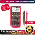UNI-T UT61E 22000 Counts True Rms Digital Multimeter AC/DC Voltage Current,Resistance,Capacitance Tester with RS232C Cable