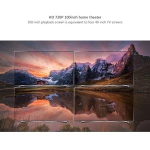 Image 3 - Thundal جهاز عرض صغير C80 UP 1280x720 القرار أندرويد واي فاي Proyector LED ثلاثية الأبعاد المحمولة HD متعاطي المخدرات السينما المنزلية اختياري C80up