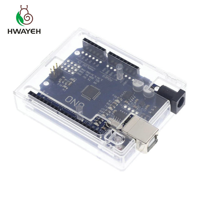 HWAYEH high quality One set UNO R3 CH340G+MEGA328P Chip 16Mhz For Arduino UNO R3 Development board + USB CABLE 4