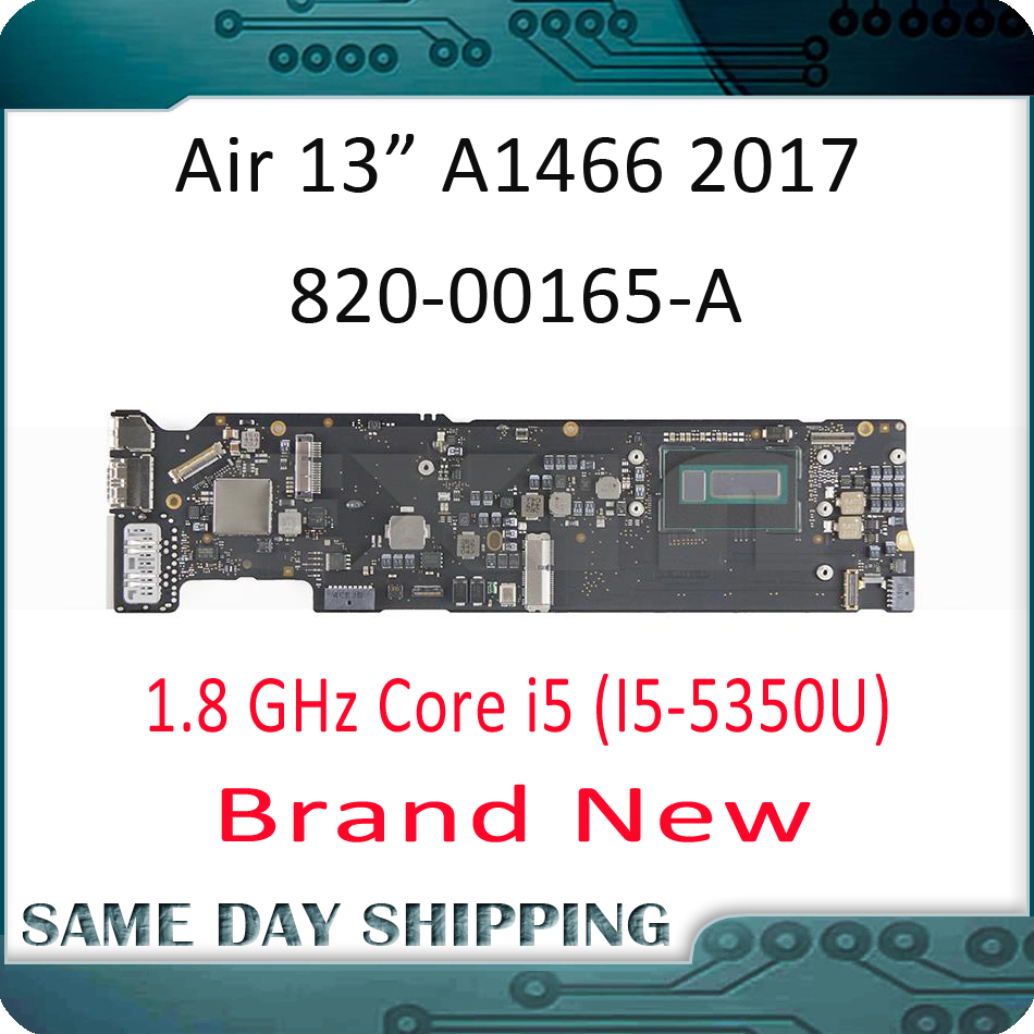2017 New for Apple MacBook Air 13 A1466 Logic Board Motherboard Mainboard 1 8 GHz 8GB