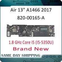 """2017 Новый вытянутый! Материнская плата для Apple MacBook Air 13 """"A1466, материнская плата 8 Гб 1,8 ГГц Core i5 2,2 ГГц Core i7 820 00165 A"""