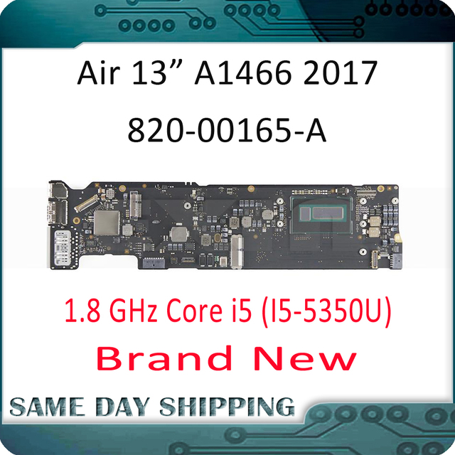 "2017 New Pulled! for Apple MacBook Air 13"" A1466 Logic Board Motherboard Mainboard 8GB 1.8GHz Core i5 2.2GHz Core i7 820 00165 A"