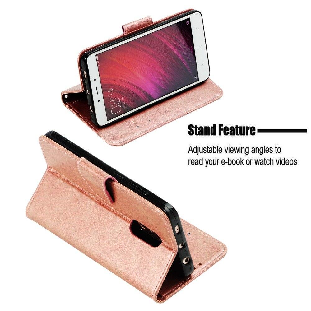 Cute Fashion Retro 3D Owl Crystal Phone Case For Xiaomi Mi 5X Redmi 4A 4X 5A Note 4 Case Flip Leather Cover For Redmi Note 5 Pro