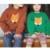 BBK 2016 Outono raposa camisola feita malha do bebê crianças Meninos meninas de Camisola com Capuz de Lã de Algodão Inverno Malhas Camisola Infantil C *