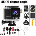 4K WiFi Action Camera 170 Degree Full HD Sports Camera with Remote Controller Ultralight Sport Action Camera 50m Waterproof