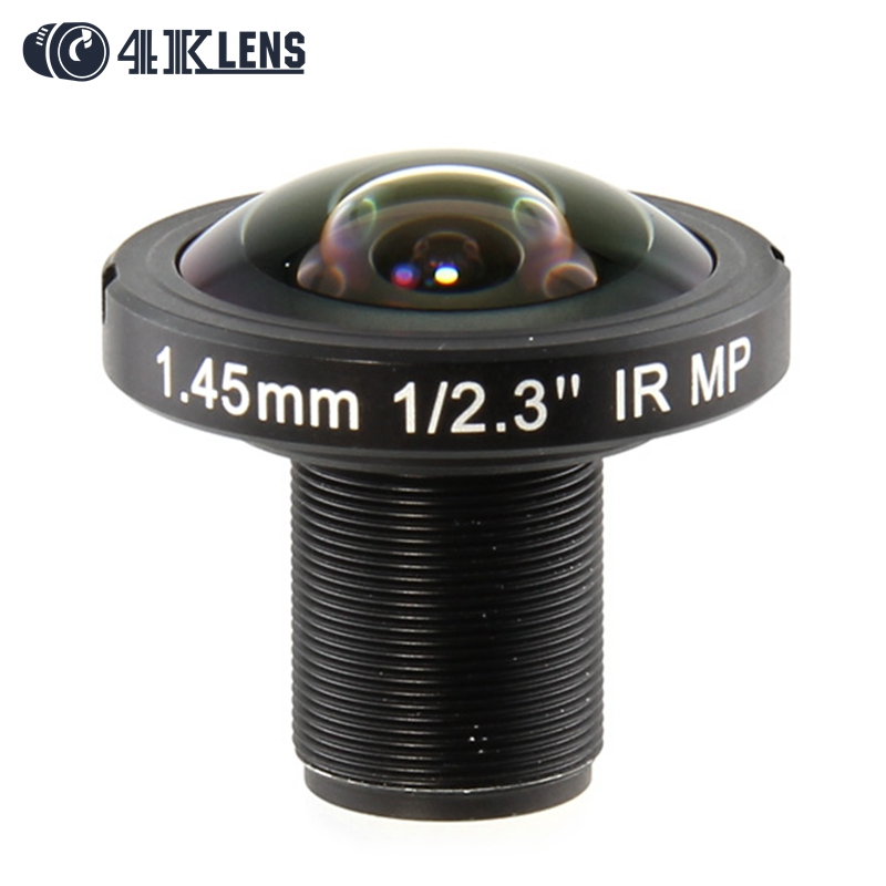 4K LENS 1 45MM Lens 190D 12MP IR for GoPro Ribcage 360 VR Camera 2016 Hot