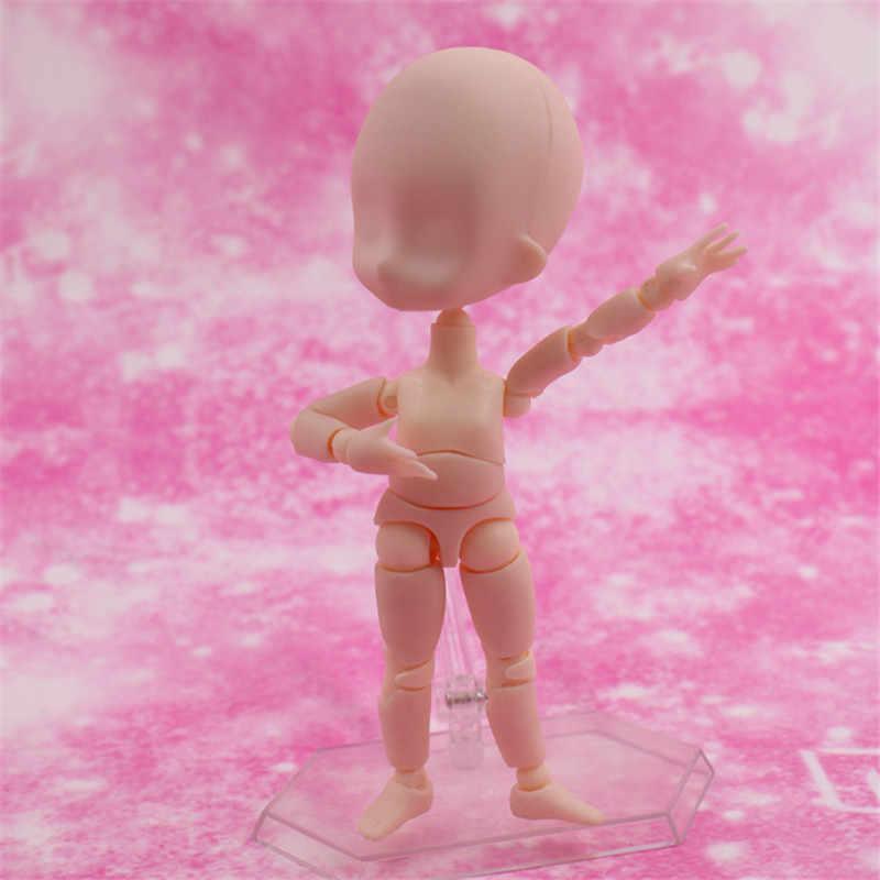 ¡Anime arquetipo Q Ver! Que ella cuerpo KUN/cuerpo CHAN de ferrita Figma móvil Cuerpo Femenino de PVC MODELO DE figura de acción 14cm