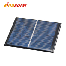 4V 160mA High Efficiency Polycrystalline Epoxy Resin Solar Panel for electronic DIY 90x70mm
