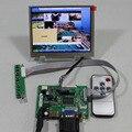 HDMI+VGA+2AV lcd  Controller board VS-TY2662-V1+LVDS Tcon+5inch AT056TN53 V1 640X480 lcd panel