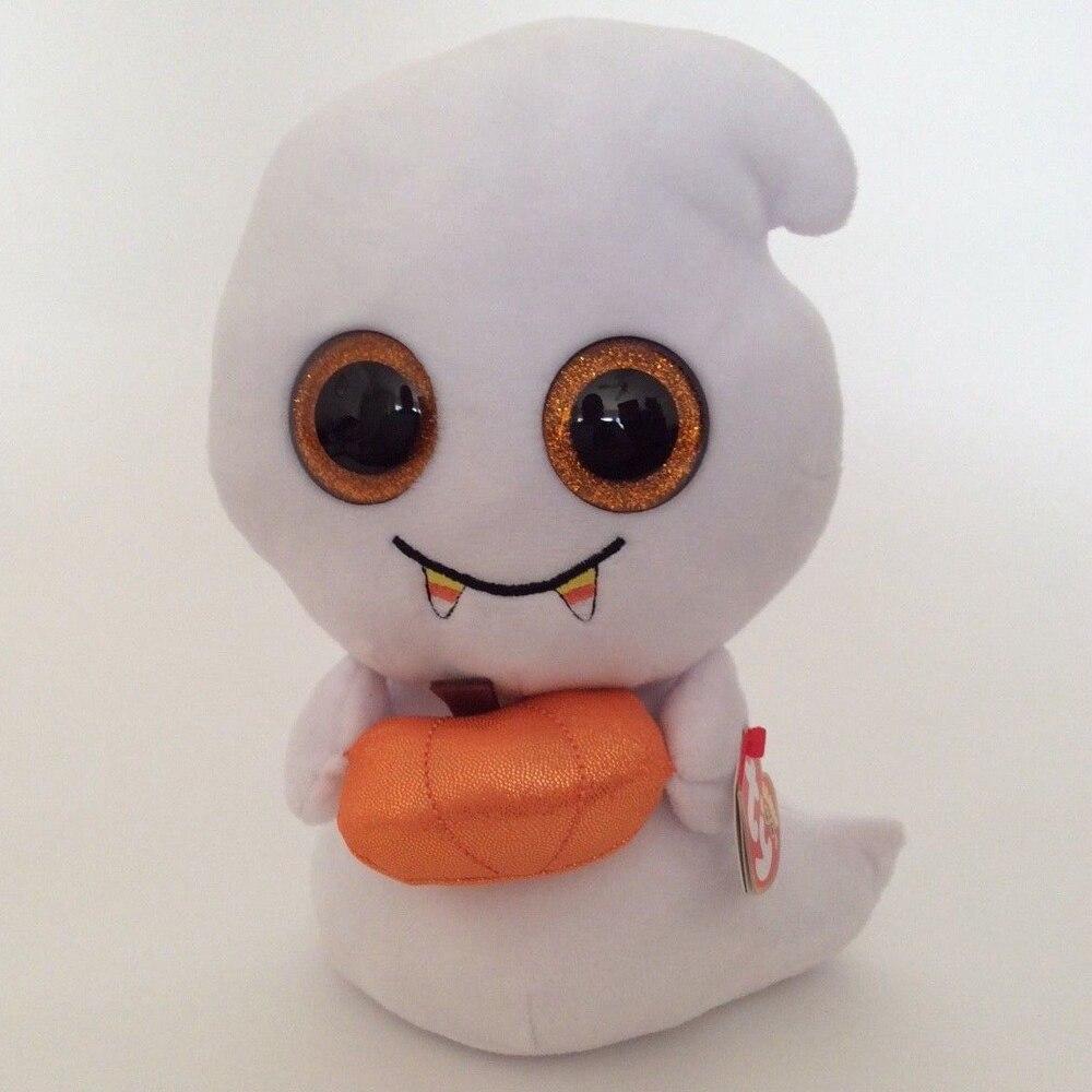 de1da8afb31 2019 Pyoopeo Ty Beanie Boos 6 15cm Scream The Halloween Ghost Plush ...