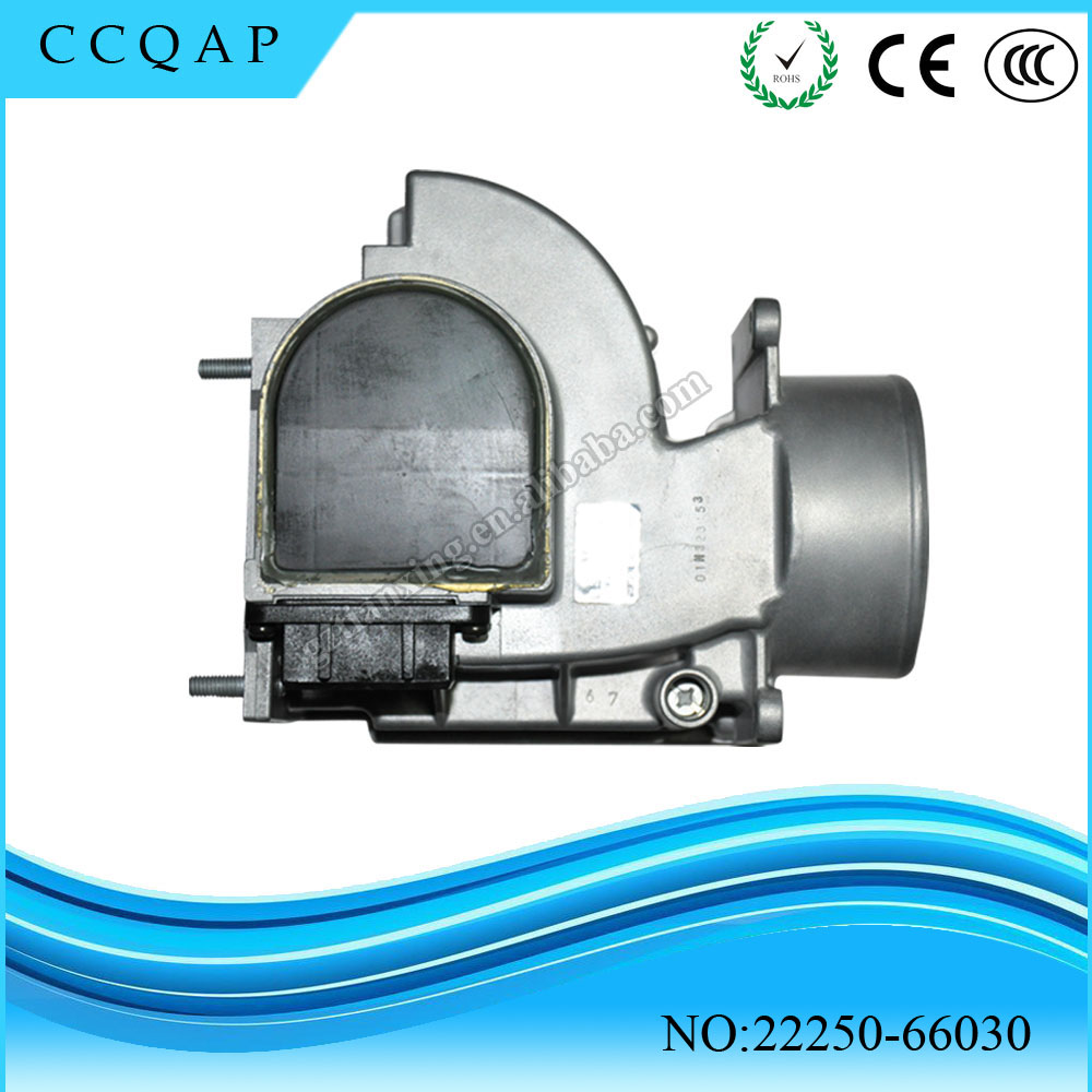2225066030 High Quality MAF 22250 66030 Mass Air Flow Sensor For Toyota 22250-66030 22250-66010 new mass air flow sensor meter maf for volvo s80 v50 s40 c70 v70 xc 0280218088