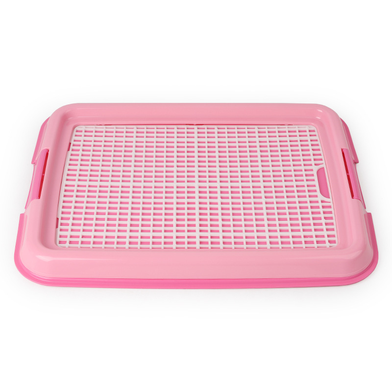 Reusable Puppy Training Pad with Grid Tray for Pets Potty Training Made with PP Resin Material 2