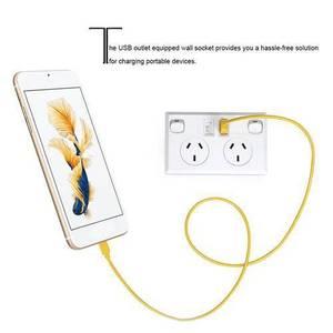 Image 4 - Đôi USB 2 Công Tắc Điện Ổ điện Úc ÂU Cắm Điện Gia Đình Điểm Cung Cấp Đĩa Nhà Cải Tiến Dụng Cụ