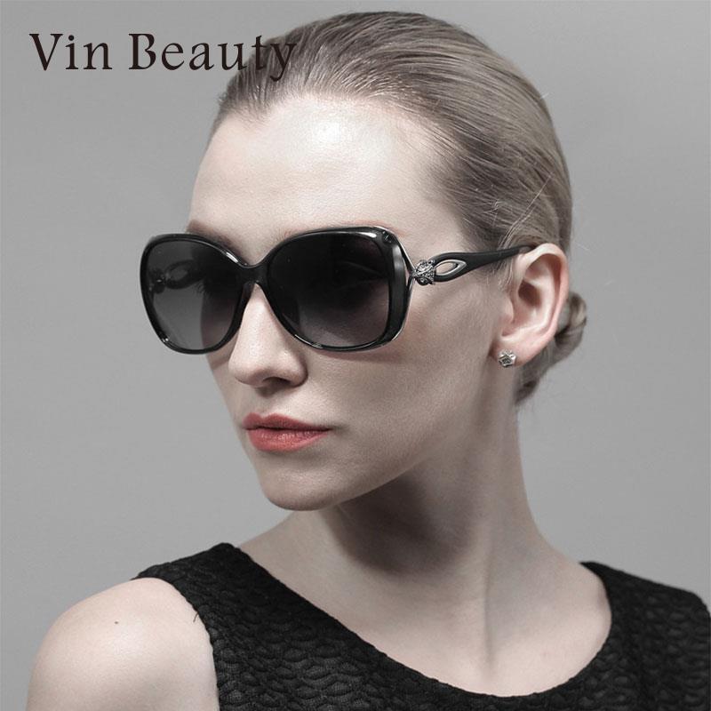 TR90 VEITHDIA Female Sunglasses Polarized 4 Colors Random Delivery Women