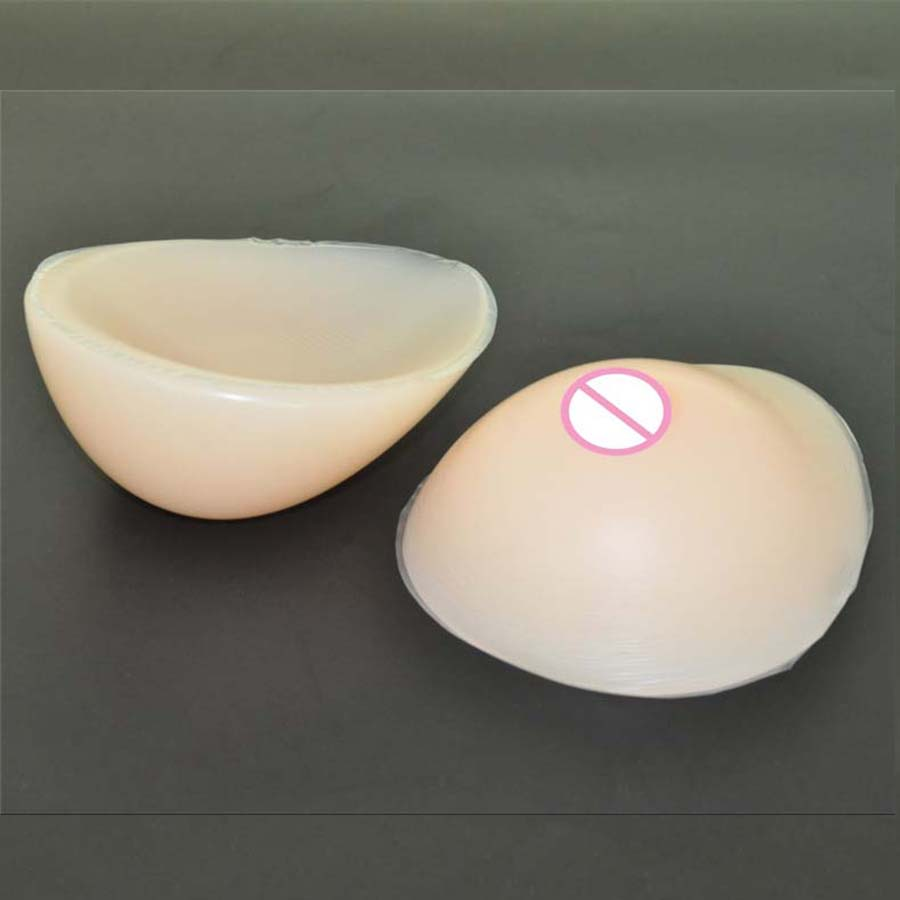 1pair 1000g D cup Beige Drop Fake Silicone breast form Insert Artificial soft touch Boobs forms Tits Enhancer bra Pad for woman 1 pair gg cup nude skin tone 2800g silicone breast form with straps