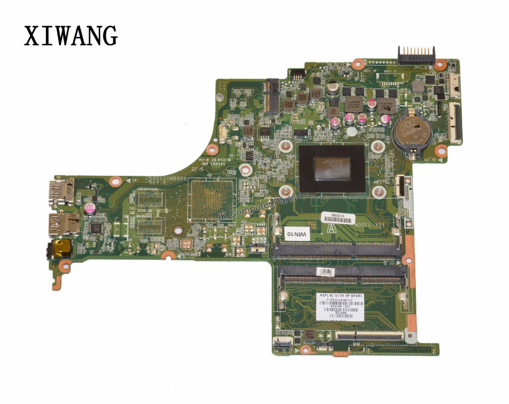 809338-001 Free Shipping 803338-501 803338-601 DA0X21MB6D0 Laptop motherboard for HP Pavilion 15-ab motherboard A10-8700P CPU