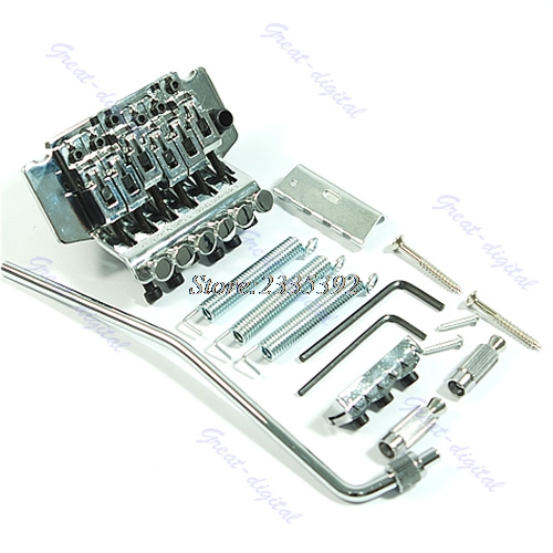 Hot Floyd Rose Lic Tremolo Bridge Double Locking System New lucky ff718 lic