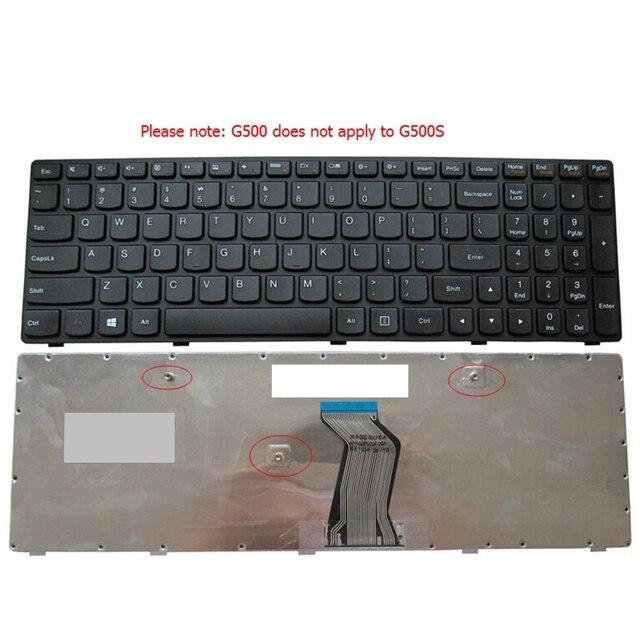 Novo Teclado PARA LENOVO G500 G505 G510 G700 G710 teclado portátil EUA Frete grátis (NÃO CABER G500S)