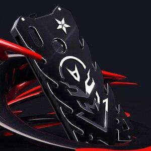 Image 1 - Alu mi num metalowy korpus etui na xiaomi mi 9T K20 Pro CC9 CC9e Max 3 9 SE Lite etui Coque obudowy odporne na wstrząsy czerwony mi uwaga 7 5 Pro okładka