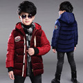 Children Thicken Winter Jackets For Boys Clothing Casual Hooded Boys Cotton Parka Kids Winter Coats Outerwear 2 4 6 8 10 12 Year