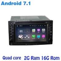 Quad core Android 7.1 Car dvd gps for Kia rio cerato optima ceed sorento sportage carens with wifi 4G usb auto multimedia Stereo