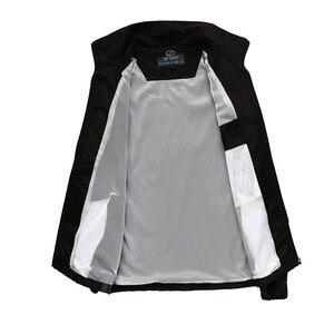 Image 4 - Nowych mężczyzna zestaw wiosna jesień mężczyźni odzież sportowa 2 częściowy zestaw Sporting garnitur kurtka + spodnie Sweatsuit mężczyzna odzież dres rozmiar L 5XL