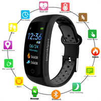 Smart Watch Men Women Color LCD Screen Professional Sport Smart Band IP68 Waterproof GPS Fitness Activity Tracker Pedometer 2019