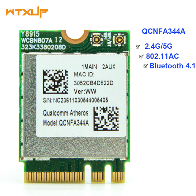 Wireless Adapter Card for Qualcomm Atheros Wireless AC Wi Fi