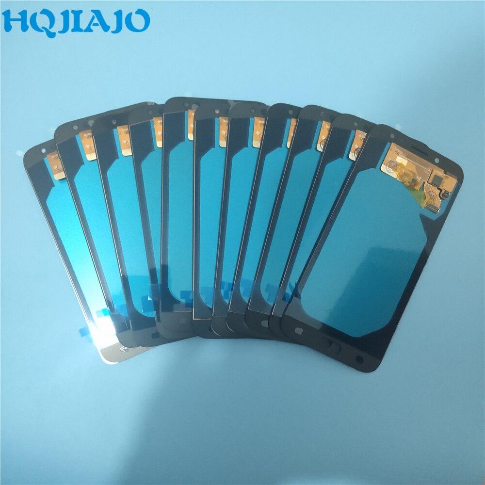 10 piece lot AMOLED LCD Screen For Samsung Galaxy J7 Pro 2017 J730 J730F J730FM LCD