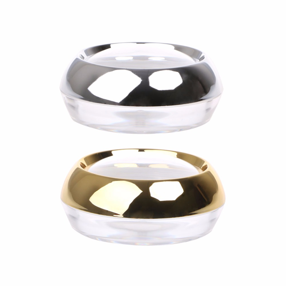 50g Acrylic Container Packing Cosmetics Refillable Bottles Empty Capsule Bottle Face Cream Sample Gold/Silver New
