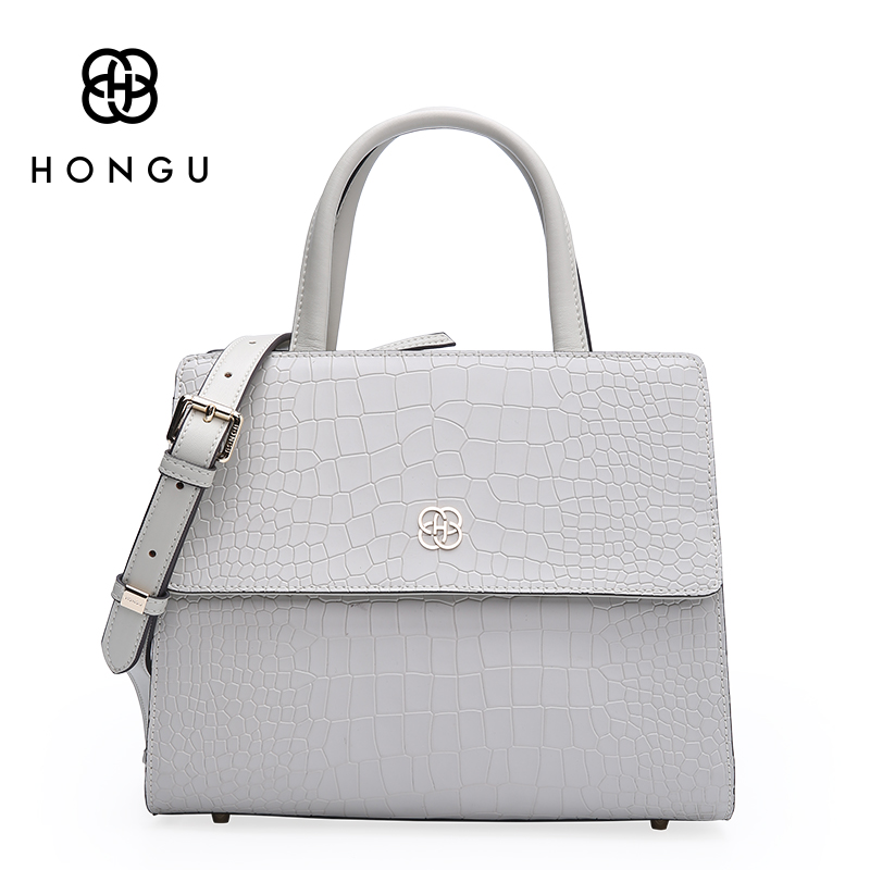 Hongu Genuine Leather Alligator Tote Luxury Handbags Women Bag Designer Women Famous Brand Lady Shoulder Louis Bags Bolsos mujer laorentou luxury genuine leather women handbags crossbody bags for women brand designer tote bag new trend color lady bag n56