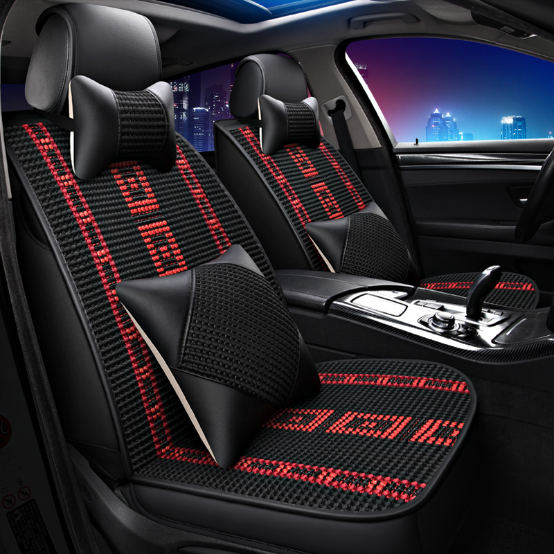 Car Seat Covers Styling Cushions Padauto For Toyota Camry 40 RAV4 Verso FJ Land Cruiser LC 200 P