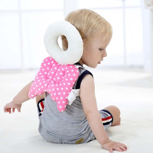 Baby Head Protection Pad Cute Wings Anti Crash Pad Angel Style
