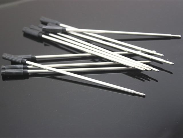 10pcs Jin Hao Ball Point Pen Refills for Pens, Fine Point, 0.5mm, (Black Ink) 4
