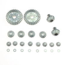 Toy Rust-proof Driving RC Car 12T 24T 30T Durable Gear Set Combo Kit Tool Hardware Differential Planet For Wltoys 12428 12423 2sets upgrade parts 12t 24t 30t motor driving differential gear combo set for wltoys 12428 12423 12628 1 12 jjrc q46 rc car