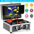 "KKmoon 15M 1200TVL Fish Finder Underwater Fishing 7"" Video Camera Monitor AntiSunshine Shielf Sunvisor Infrared 12PCS IR LEDs"