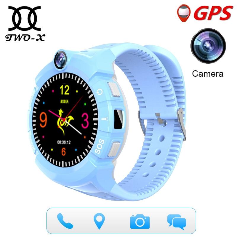 Для Smart Watch vm50 дети GPS трекер q360 дети часы-телефон для детей безопасной SOS Вызов Anti потерянный напоминание ребенок часы PK q528