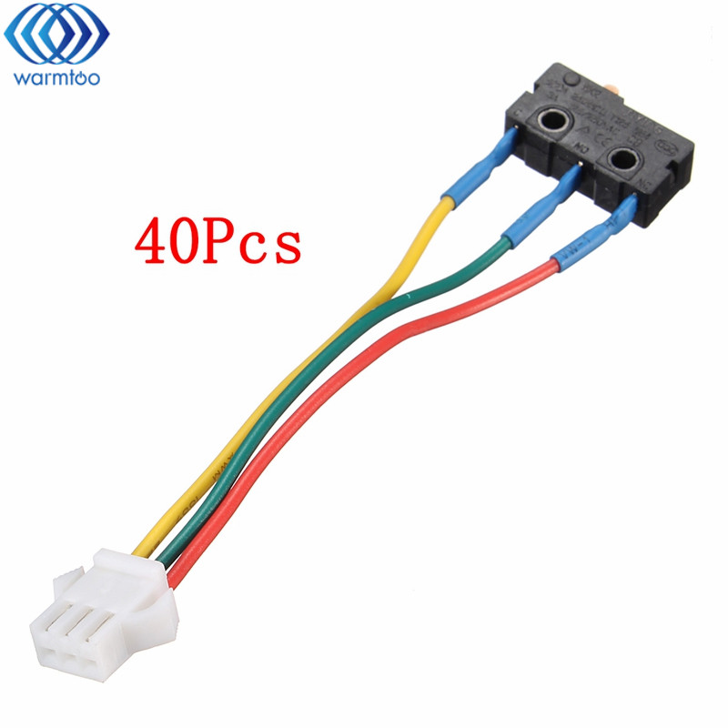 40Pcs Gas Water Heaters Accessories Micro Switch Kitchen Burning Gas Burner Switch Home Appliance Accessories Durable Quality mig mag burner gas burner gas linternas wp 17 sr 17 tig welding torch complete 17feet 5meter soldering iron air cooled 150amp