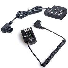 D-Нажмите, чтобы DCC12 манекен Батарея Переходник постоянного тока Мощность Кабель-адаптер для Panasonic DMC GH3 GH4 GH5 и Антон bauer V крепление DMW-DCC12