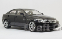 Black 1 18 LEXUS IS350 2006 AutoArt AA Diecast Model Car Aluminum Die Casting Products Craft
